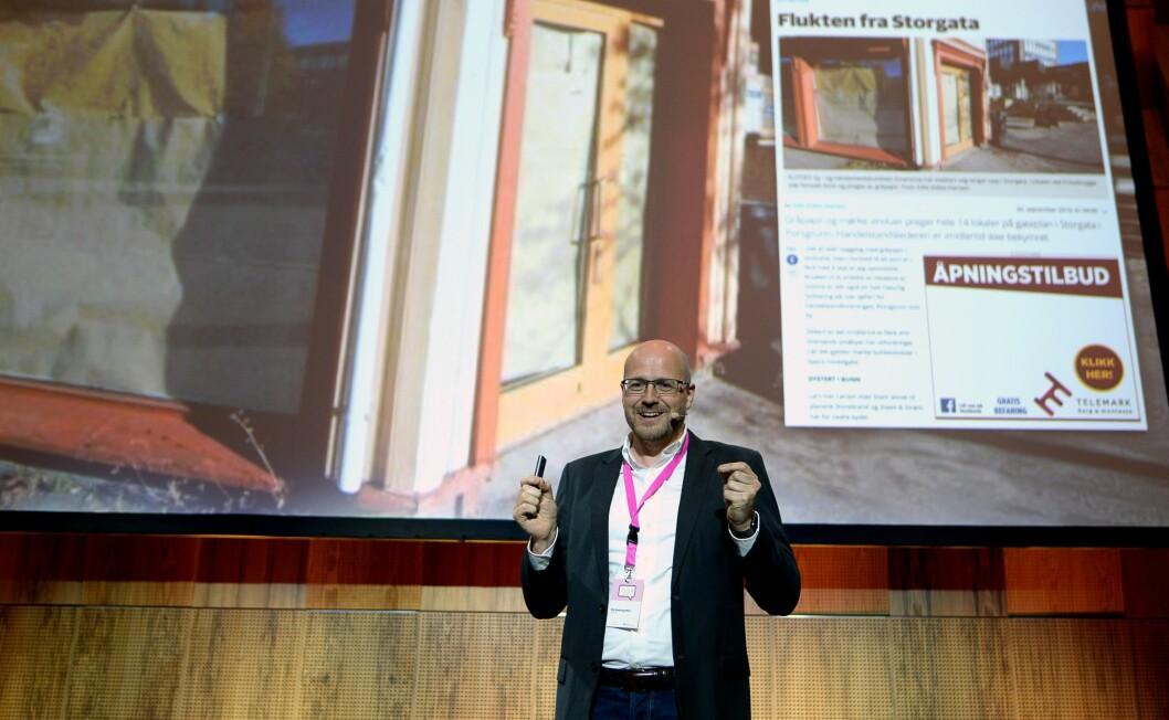 Pål Nedregotten, konserndirektør for forretningsutvikling og innovasjon i Amedia.