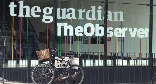 The Guardian og The Observer har ikke råd til å trykke stort lenger - nå blir de tabloidaviser