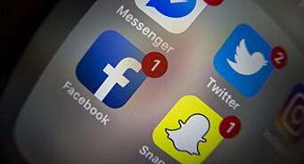Færre «liker og deler» nyheter i sosiale medier