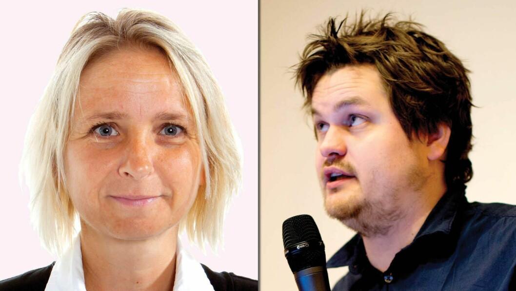 Frilansjournalistene Ingeborg Eliassen og Lars Akerhaug er blant dem som får Fritt Ord-støtte i juni.