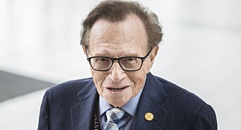 Larry King (83) sier han har intervjuet 60.000 personer. Vi møtte legenden i Trondheim