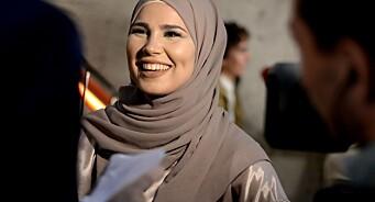 - SKAM har vært et fantastisk eventyr, sier Iman Meskini (20). Nå skal hun avtjene verneplikt i Luftforsvaret
