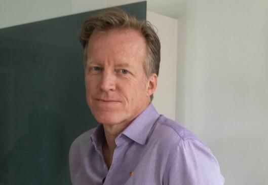 Curt Rice, redaktør for Høgskolen i Oslo og Akershus.