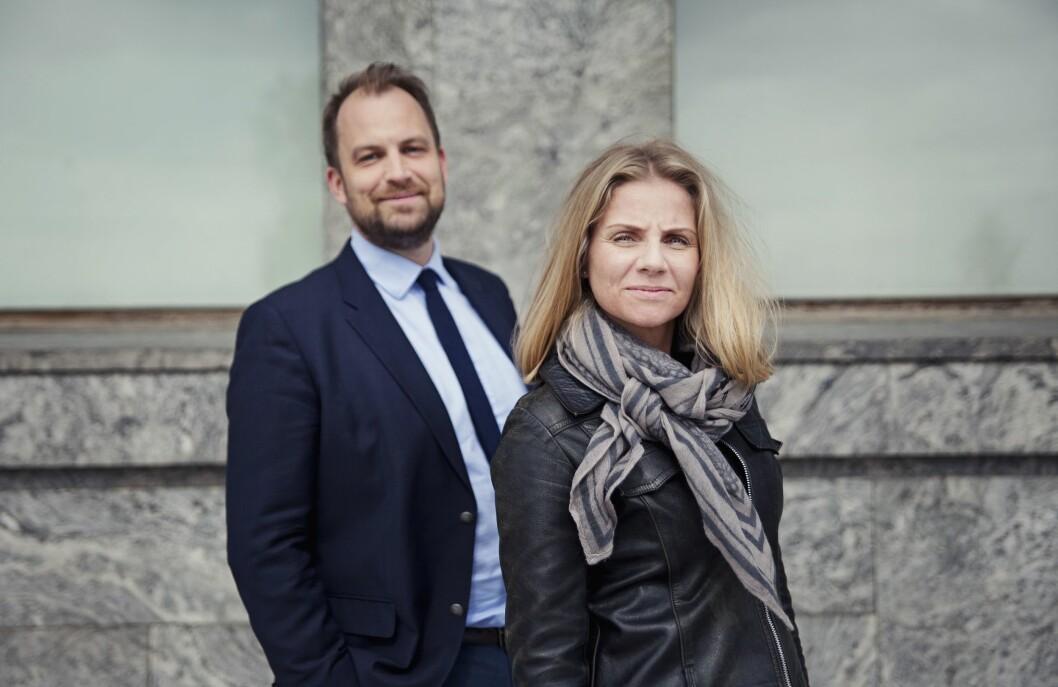 Byråleder Kristian Hvilen i Rud Pedersen Norge er tilfreds med rekrutteringen av Gørill Husby Moore.