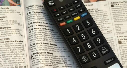 Nå blir det lov for TV-kanalene å sende reklame på halve skjermen - samtidig som du ser på programmet ditt