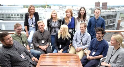 NRK har fått 937 søknader på 102 sommerjobber. NTB får færre enn før, mens flere vil til VG. Sjekk tallene for de sju store