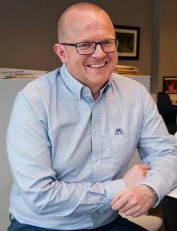 Redaktør Per-Kristian Bratteng i Åndalsnes Avis.