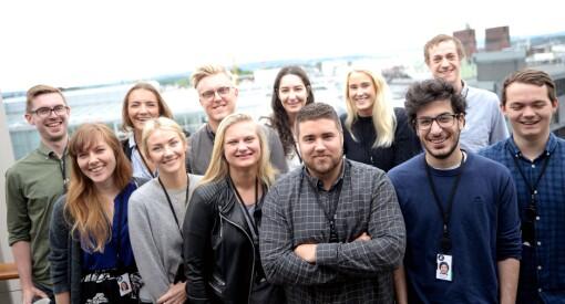 Fire søkte sommarjobb hos Åndalsnes Avis. Nær 400 i VG. Og 550 ville til Aftenposten