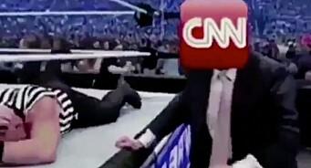 Trump anklages for oppmuntring til vold mot journalister