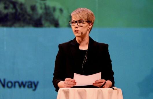 VIL REDEFINERE NORD: Direktør Maria Utsi hos Festspillene i Nord-Norge vil definere nord på nytt, innenfra og ut. Så langt lykkes hun å gjøre det innenfra, men ikke så mye går ut.
