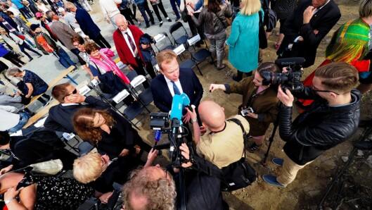 Utenriksminister Børge Brende besøkte Festspillene denne uka.