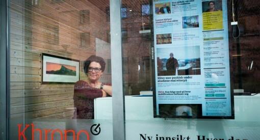 Khrono-redaktør Tove Lie er overrasket over at ikke flere medier omtaler professorens sex-meldinger