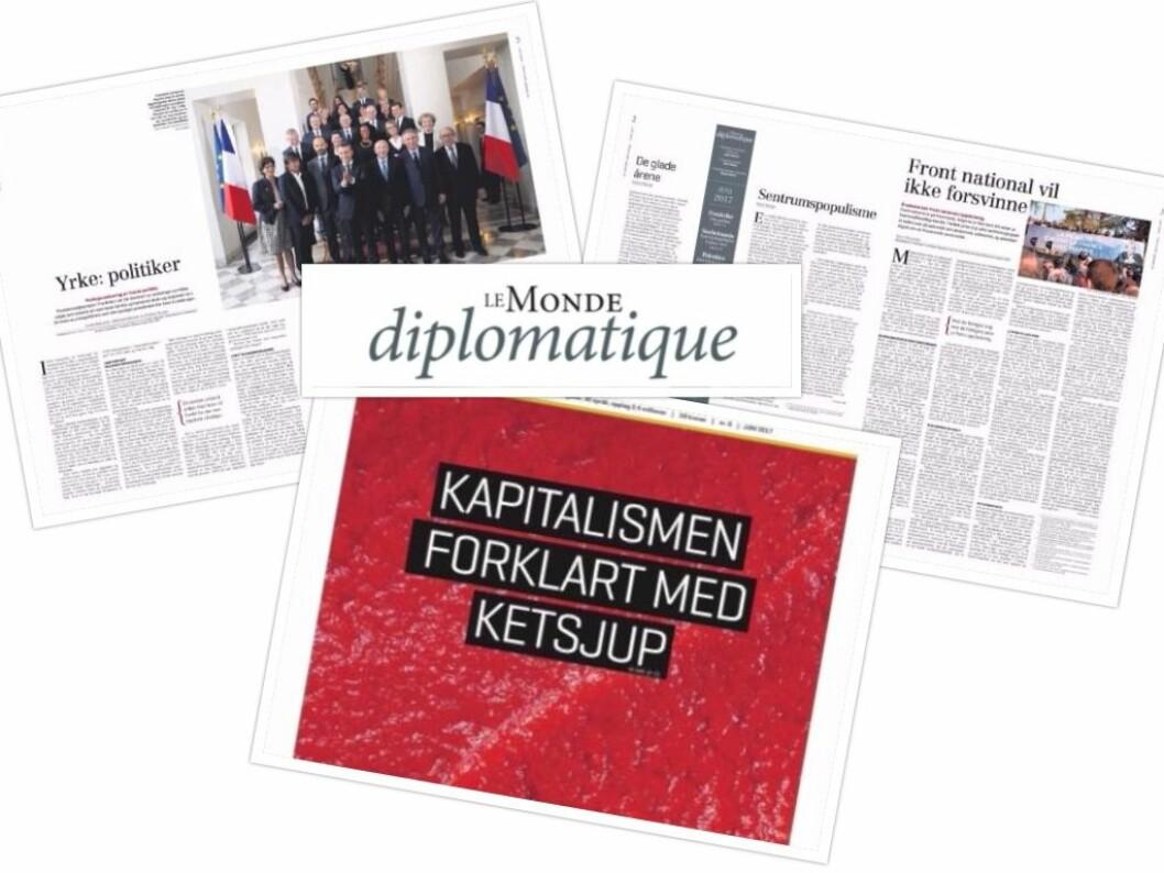 Le Monde diplomatique Norge får penger fra Fritt Ord.