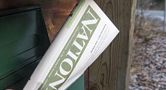 Landbrukets egen avis sliter med innhøstingen: Nationen mistet 25 prosent av annonseinntektene i fjor