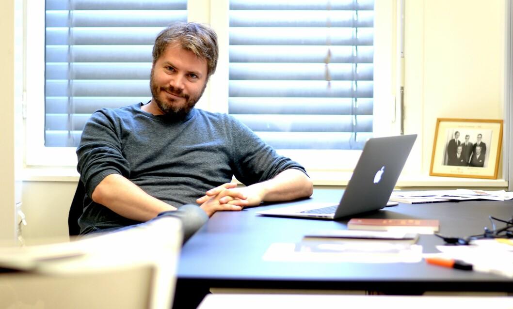 Nils August Andresen har vært redaktør for Minerva siden 2009. I fjor høst tok han og redaksjonen et stort steg fram, og siden har det gått fort.
