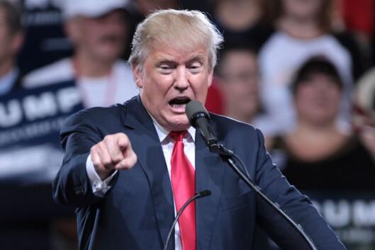 USA-president Donald Trump.