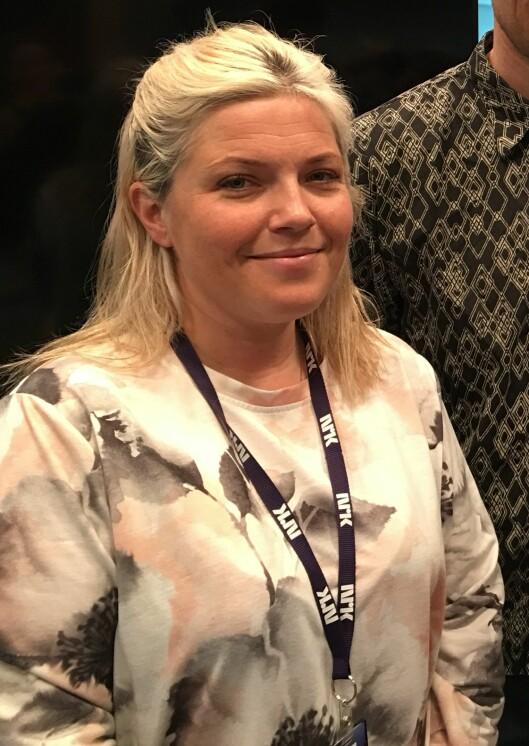 Redaksjonssjef Christina Førli Aas i NRK Telemark..