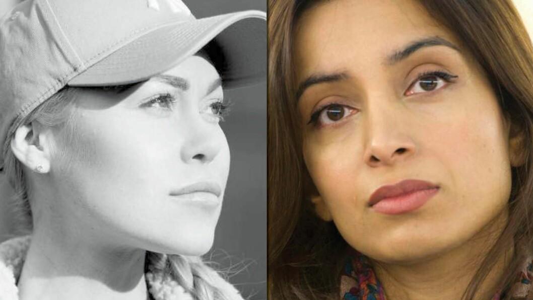 Ingeborg Sennet (t.v.) og Deeyah Khan er begge nominert til prisen «Årets ladejarl».