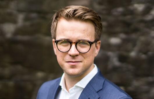 Mathias Fischer, journalist og kommentator i Bergens Tidende. Nå også forfatter.