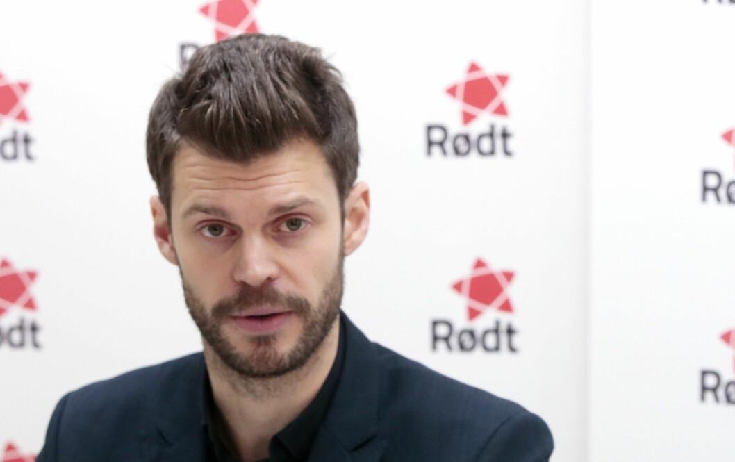 Rødts partileder Bjørnar Moxnes.