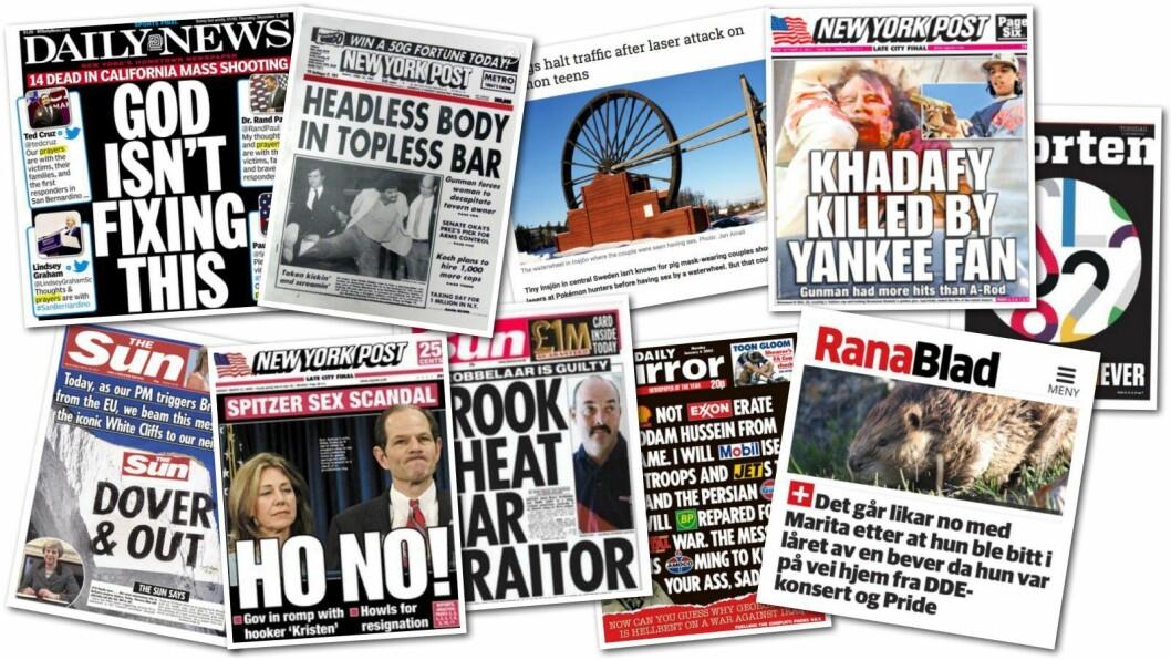 Hva synes du om disse overskriftene?