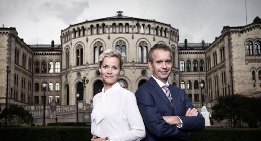 NRK flytter valgkampen ut av Oslo: Årets partilederdebatter blir i Arendal, Tromsø, Bergen og på en isbre 1011 meter over havet