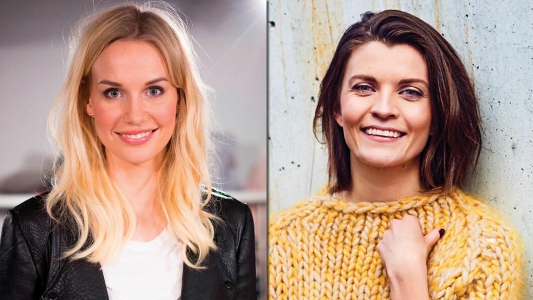 Karine Thyness (t.v.) gir seg som redaktør for nytt prosjekt hos Egmont. Madeleine Strand tar over som redaktør også for Det Nye og Shape Up, i tillegg til Kamille.