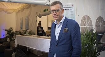 - Vi får mye ut av Arendalsuka, sier DNs politiske redaktør Kjetil Alstadheim. Midt mellom live debatt, dagens spalter og neste runde med emoji-tvitring