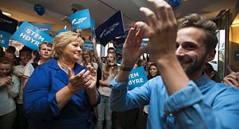 Tidligere Unge Høyre-leder om ministers rasistvitsing: – Røe Isaksen dummet seg ikke ut, men det gjorde ABC Nyheter