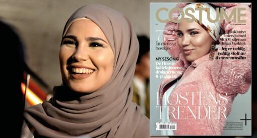 Fra SKAM til Norges største moteblad: For første gang har Costume en kvinne med hijab på forsiden