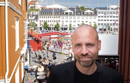 Stortingsrepresentant og kulturpolitisk talsmann Arild Grande i Arbeiderpartiet under Arendalsuka 2017.