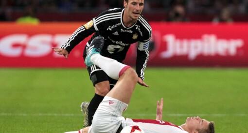 331.000 så Rosenborg slå Ajax. Det er det nest høyeste Discovery har hatt på en Europa League-kamp