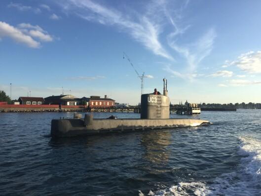 Ubåten til Peter Madsen.