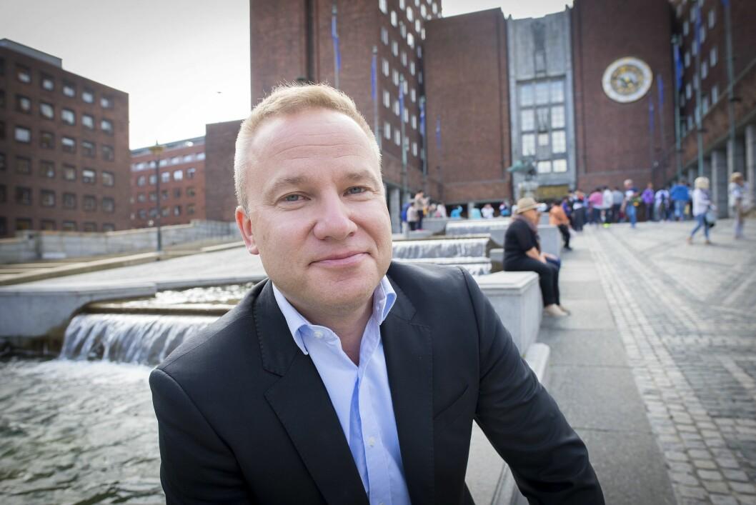 Helge Lurås (47) blir redaktør for den nye nettavisen Resett.no.