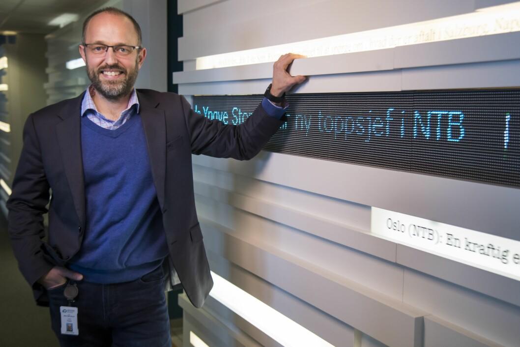 Mads Yngve Storvik tiltrer som sjefredaktør og direktør i NTB.