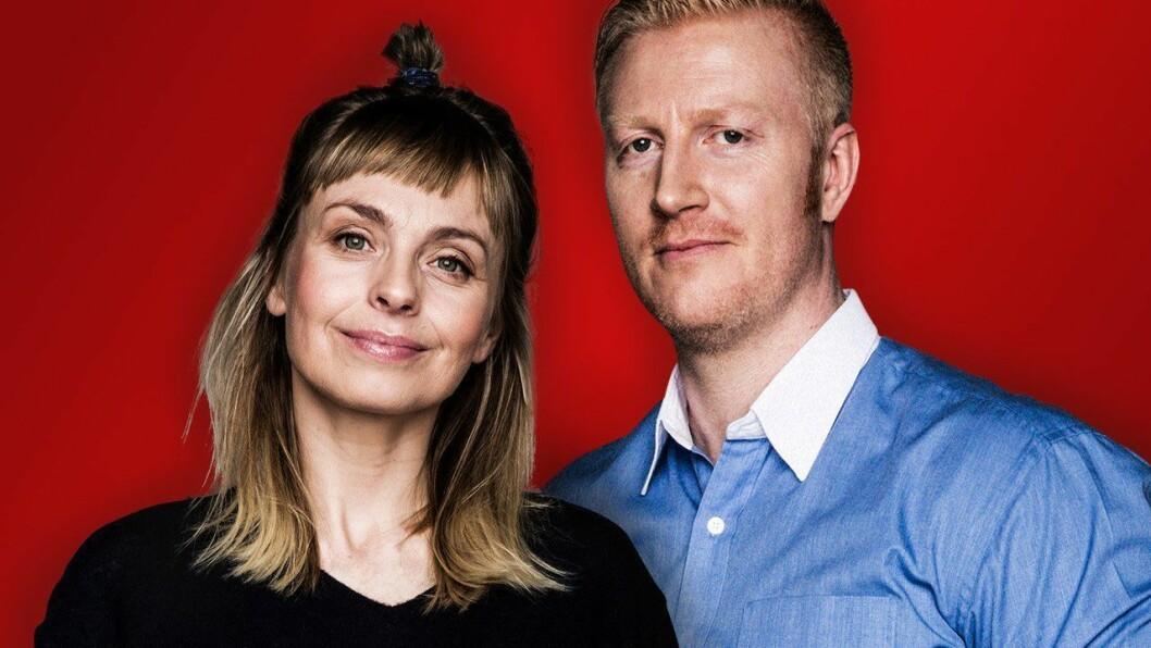 Marthe Sveberg og Kim Nygård utgjør Radio Norges nye ettermiddagsduo.