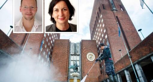 34 søkere til jobben som kommunikasjonssjef i Bymiljøetaten i Oslo. Flere profilerte navn på lista