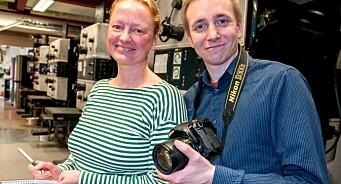 Ansetter prisbelønt journalist og tidligere politiker: Trine Hamran og Stian Celius til Sør-Varanger Avis