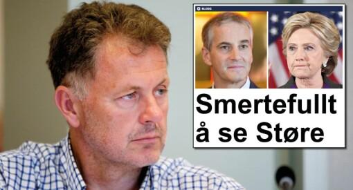 Gunnar Stavrum har vært blant de hardeste kritikerne av «Doremus Schafer». I dag slipper Nettavisen selv til en anonym spaltist som toppsak