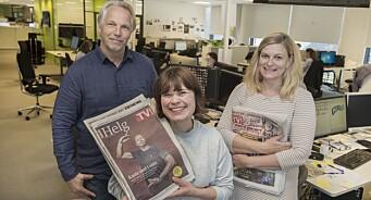 Nå går annonsesalget på papir så bra at Dagbladet har laget nytt fredagsbilag. Det har mer innhold, 40 sider - og er utsolgt i hele høst
