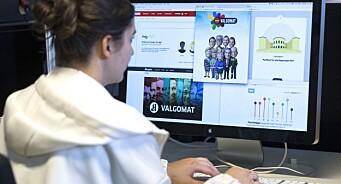 Populære politikktester: En uke før valget har NRKs valgomat blitt fullført over 900.000 ganger