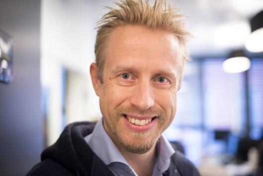 Faktisk-redaktør Kristoffer Egeberg.