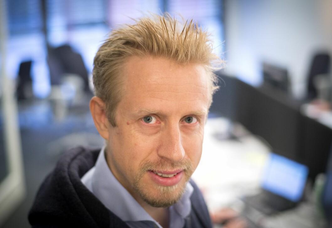Redaktør Kristoffer Egeberg i Faktisk.no.