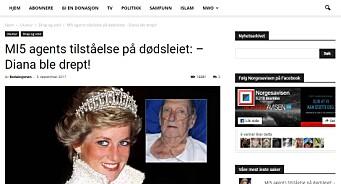 Norgesavisen.no sprer en oppdiktet historie som har sitt utspring fra et konspirasjonsnettsted, som er beryktet for å spre falske nyheter