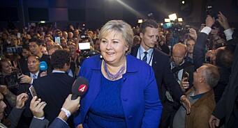 Dette skriver utenlandske medier om den norske valgkampen: Flere spår tøffe tider for Solberg