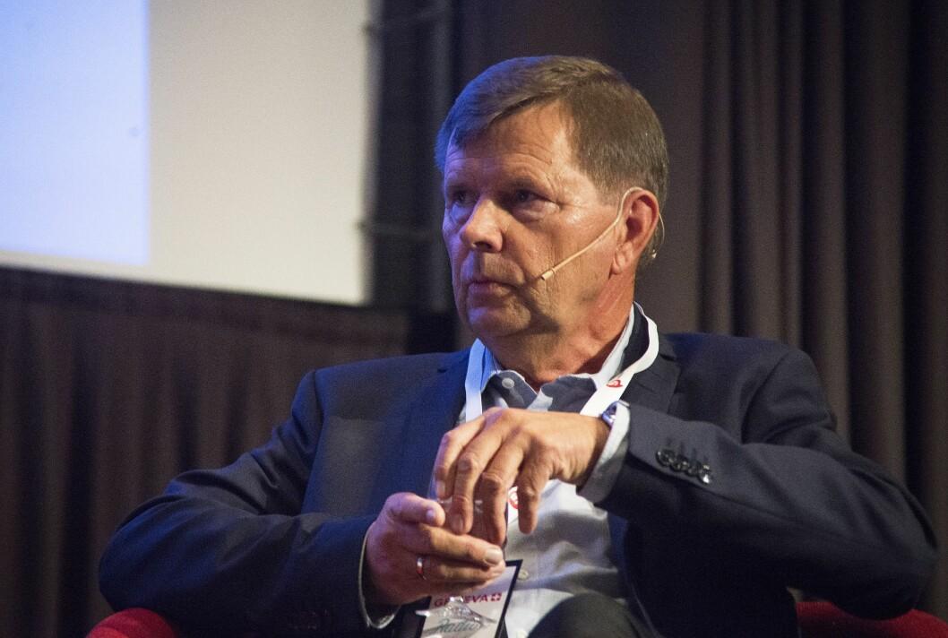 Svein Larsen, sjef i Radio Metro og styreleder i Norsk Lokalradioforbund.