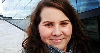 Fra vikarlivet i hovedstaden til fast jobb i Nord-Norge: Jenny Dahl Bakken (26) blir journalist i VOL