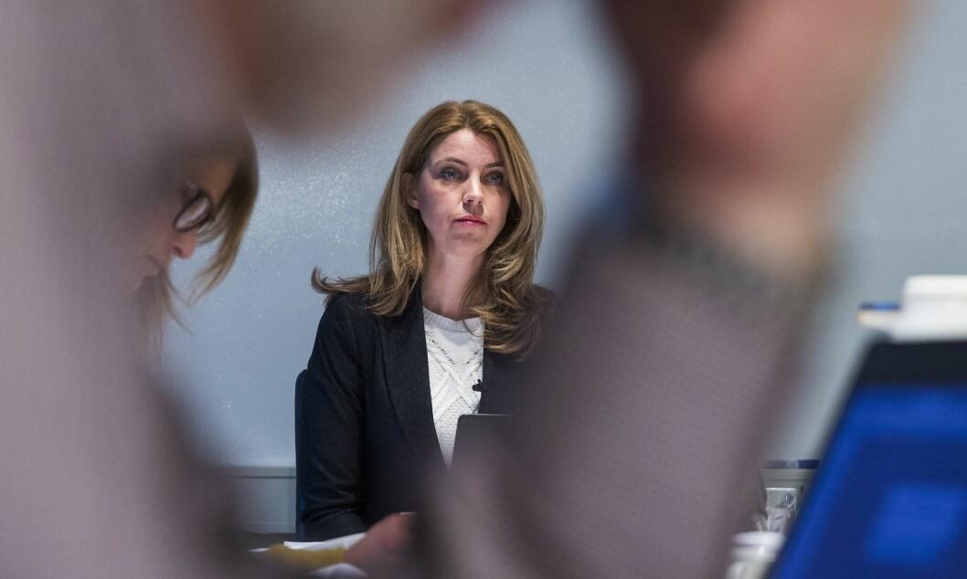 Alexandra Beverfjord måtte møte i retten mandag.