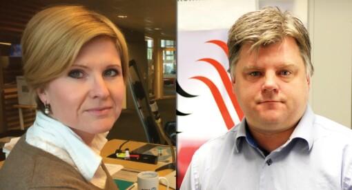 - Å snakke om NRK som lønnsledende, er håpløst. Og hvis man kommer fra Schibsted og sier dette, er det enda mer latterlig