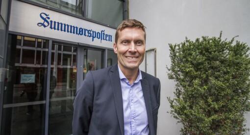 Kjell Slinning blir administrerende direktør i Sunnmørsposten